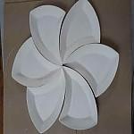 플라워조각접시 (앞접시용)